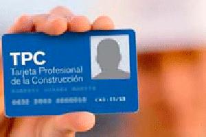 Tarjeta Profesional de la  Construcción – TPC (20h)